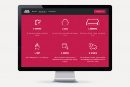 SofaDrop Website 1