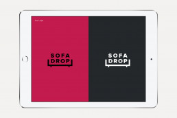 SofaDrop Guidelines logos